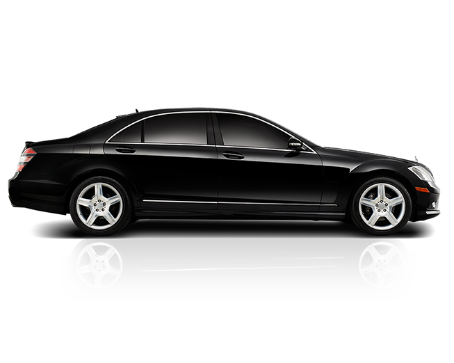 Luxury Black Car Taxi